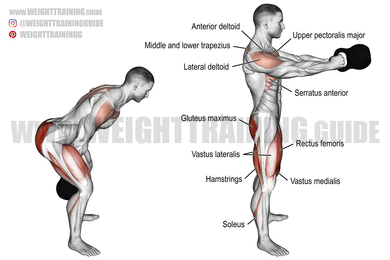 SPRINGOS kettlebell | kettlebell | 4 kg | swing dumbbell | weightlifting | sports equipment | fitness | muscle building | strength training
