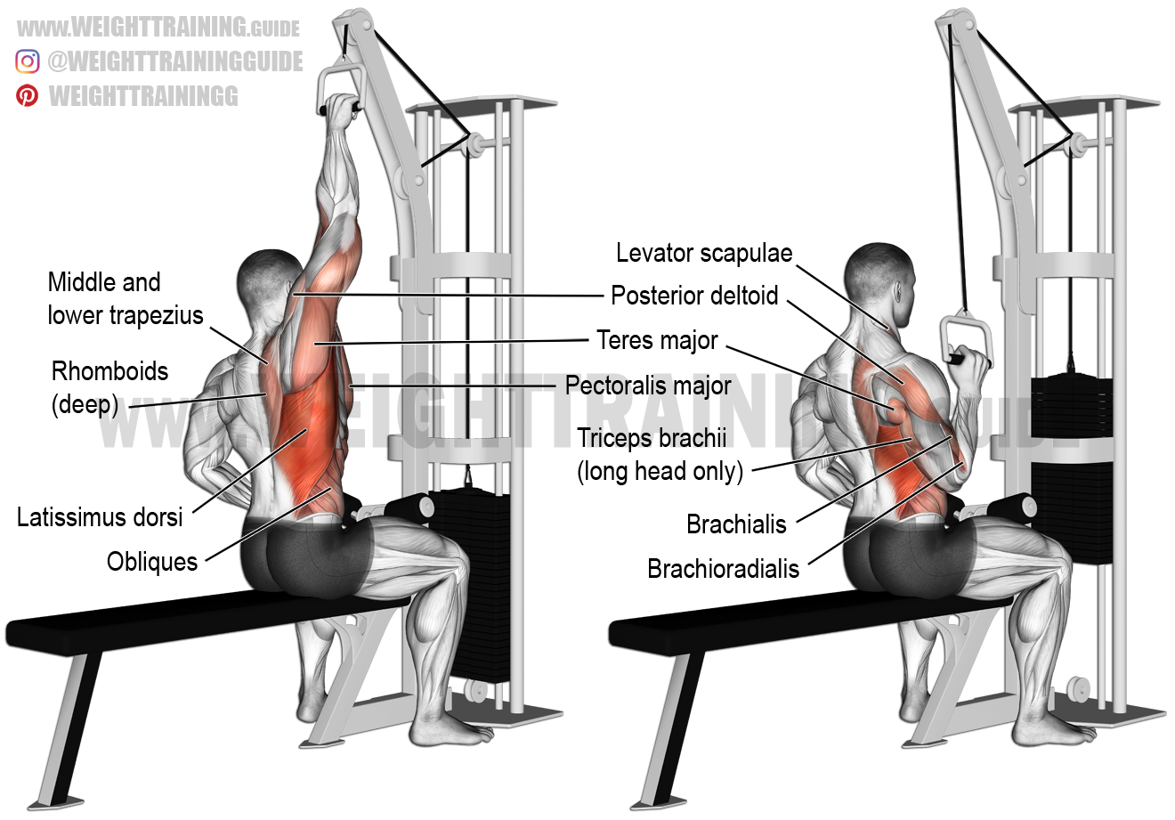 One-arm Lat Pull-down