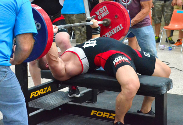 Bench press tip - Plant your feet